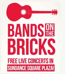 Bands on the Bricks in Sundance Square