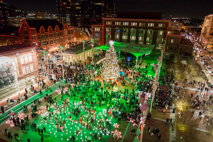 & Sundance Square Annual Christmas Tree Lighting | Sundance Square